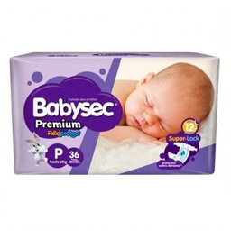 Pañal Babysec Premium Hiper Recien Nacido