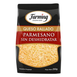 Queso Farming Rallado Parmesano Sin Deshidratar