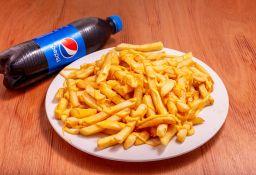 Fritas con Salsa + Refresco