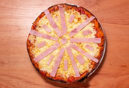 Pizzeta con Jamón - 32 Cm