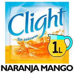 Clight Jugo En Polvo Light Naranja Man Go