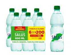 Agua Salus C/Gas 600 Ml X6