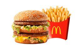 Big Mac + Papas Medianas