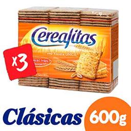 Cerealitas Galletas Clasicas Tripack