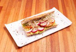 Sándwich de Rabanito