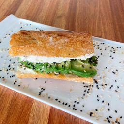 Sándwich de Queso Crema