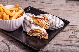 Shawarma de Falafel & Papas