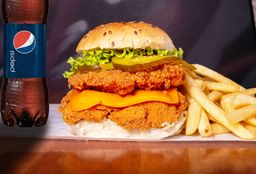 2 Burger Double Crispy