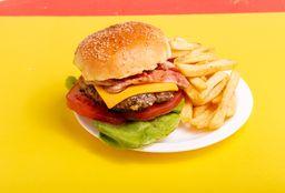 Burger Caribian Casera