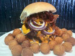 Triple Cheeseburger Bacana