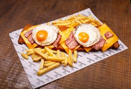 Milanesa Chesse and Egg