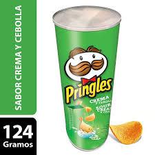 Pringles Papa Cream & Onion 124G