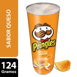 Pringles Papas Fritas Queso 124 G
