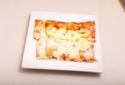 Pizza con Muzza