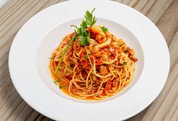 Spaghettis de Frutos de Mar