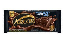 Chocolate Arcor Amargo 53% 80 Grs