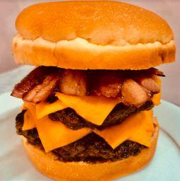 Hamburguesa Doble Cheddar Bacon