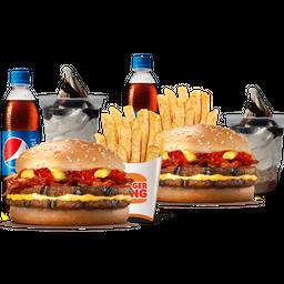 2 Combos Bacon Dúo + 2 Copa King