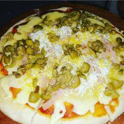 Pizzeta con 2 Gustos