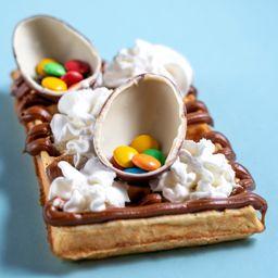Waffle Kinder Chico