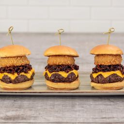 Whiskey Bacon Jam Sliders