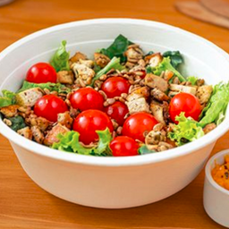 Arma Tu Green Mix Salad con Hamburguesas XL