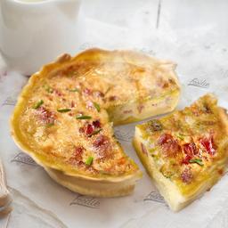 Tarta de Cebolla Caramelizada & Panceta
