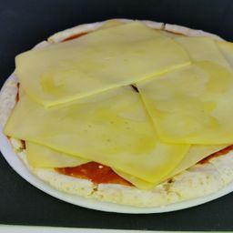 Pizza con Muzarella