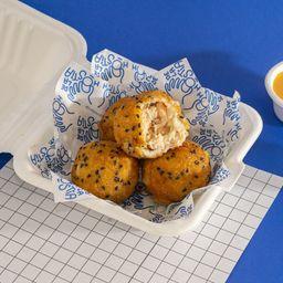Croquetas de salmón y cream cheese x 4