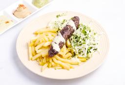 Brochette + Ensalada