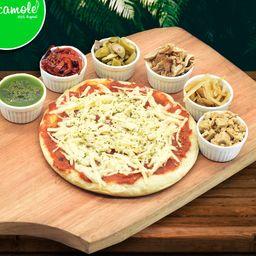 2 Pizzas Muzza Vegana y 2 Gustos