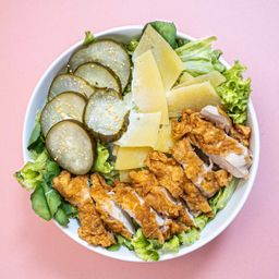 Ensalada Crispy Chicken