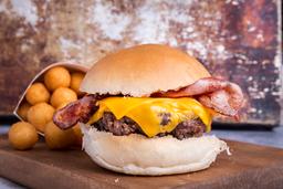 2x1 Cheesburger + Guarnición