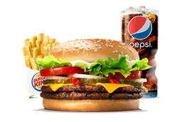 Combo Whopper® Doble Queso