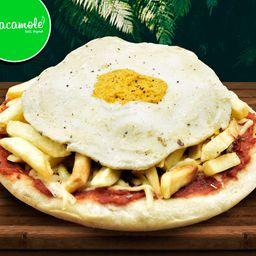 Pizza Explosiva C/huevo