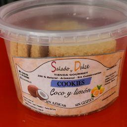 Cookies de Coco y Limon