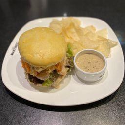 Sándwich de Pollo al Limón