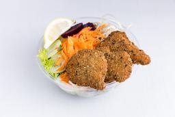Ensalada Gourmet con Pollo al Sésamo