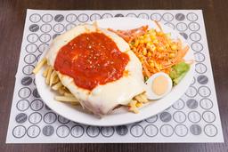 Milanesa Napolitana de Carne