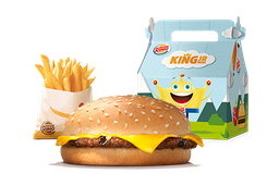 King Jr Hamburguesa con Queso
