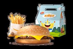 King Jr. Hamburguesa con Queso
