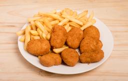 Nuggets con Cheddar