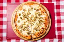 Pizzeta Muzzarella + 1 Gusto - 28 Cm