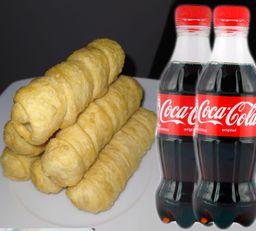 ¡COMBO! 12 Tequeños + 2 Coca Cola