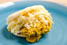 Arepa de Pollo y Muzzarella