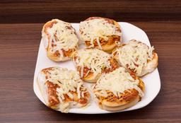 Mini Pizzas con Muzzarella