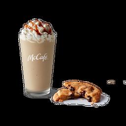 Cappuccino Frappé Dulce de Leche + Cookie