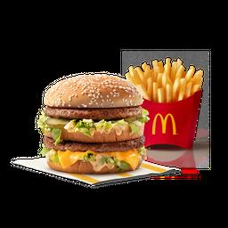 Hamburguesa Big Mac + Papas medianas 20% de  descuento