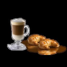 Cappuccino + 2 Medialunas