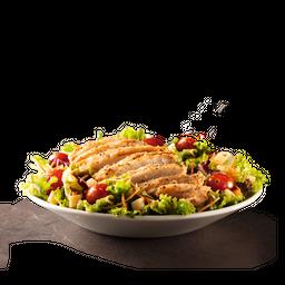 Ensalada gourmet con pollo crispy